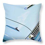 1963 Ford Falcon Futura Convertible Hood Throw Pillow by Jill Reger