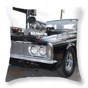 1963 Plymouth Modified Sedan Throw Pillow
