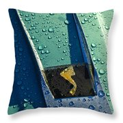 1963 Studebaker Avanti Hood Ornament Throw Pillow by Jill Reger