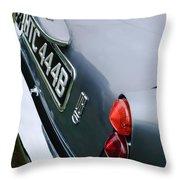 1964 Aston Martin Db5 Coupe' Taillight Throw Pillow