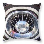 Bonneville Aluminum Rims 1964 Throw Pillow