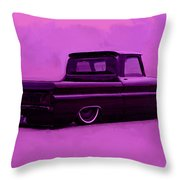 1964 Chevy Low Rider Throw Pillow