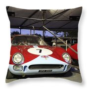 1964 Ferrari 250 Lm Throw Pillow
