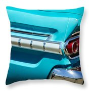1964 Mercury Comet Taillight Emblem Throw Pillow