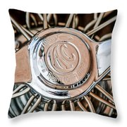 1964 Shelby 289 Cobra Wheel Emblem -0666c Throw Pillow