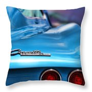 1965 Chevrolet Corvette Stingray Throw Pillow