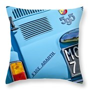 1965 Fiat Taillight Throw Pillow