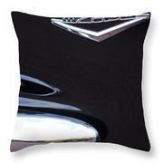 1965 Ford Mustang Gt 289 Emblem -0309c Throw Pillow