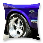 1965 Ford Mustang Gt350 Muscle Car Throw Pillow