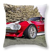 1965 Grand Sport Sebring  Throw Pillow
