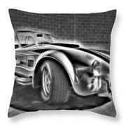 1965 Shelby Cobra - 3 Throw Pillow