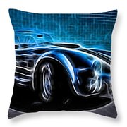 1965 Shelby Cobra - 4 Throw Pillow