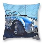 1965 Shelby Cobra- 1 Throw Pillow