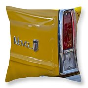 1966 Chevrolet Nova Taillight Emblem Throw Pillow
