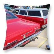 1966 Chevrolet Throw Pillow