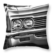 1966 Chevy Impala Ss Convertible Throw Pillow