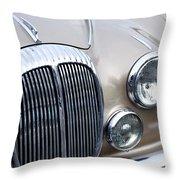 1966 Daimler Mk2 Saloon Throw Pillow