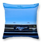 1966 Ford Mustang Front End Throw Pillow