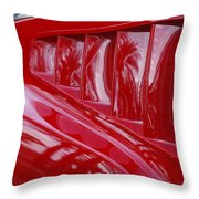 1966 Ford Mustang Gt Side Scoops -032c Throw Pillow