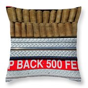 1966 Ford Young Fire Engine Throw Pillow by Jill Reger