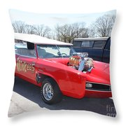 1966 Gto Monkeemobile Throw Pillow