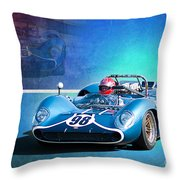 1966 Lola T70 Throw Pillow