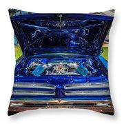 1966 Pontiac Bonneville Throw Pillow