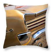1966 Pontiac Gto Tail Throw Pillow