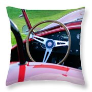 1966 Shelby Cobra 427 Throw Pillow