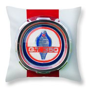 1966 Shelby Gt 350 Emblem Throw Pillow
