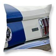 1966 Shelby Gt 350 Taillight Throw Pillow
