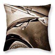 1966 Volkswagen Vw Throw Pillow