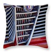 1967 Alfa Romeo Giulia Super Grille Emblem Throw Pillow