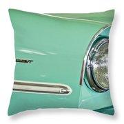 1967 Amphicar Model 770 Head Light Throw Pillow