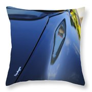 1967 Aston Martin Db6 Volante Throw Pillow