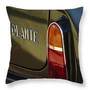 1967 Aston Martin Db6 Volante Tail Light Throw Pillow
