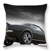 1967 Camaro Rs Throw Pillow