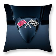 1967 Chevrolet Corvette 427 435 Hp Painted  Throw Pillow