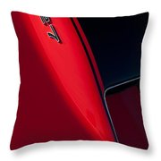 1967 Chevrolet Corvette 427 Emblem  Throw Pillow