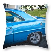 1967 Chevrolet Nova Super Sport  Throw Pillow