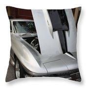 1967 Chevy Corvette Throw Pillow