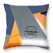 1967 Dodge Charger 01 Throw Pillow