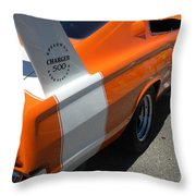 1967 Dodge Charger 02 Throw Pillow