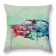 1967 Dodge Charger  2 Throw Pillow by Naxart Studio