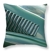 1967 Mustang Fastback Vent Throw Pillow