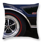 1967 Olds 442 Throw Pillow