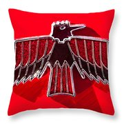 1967 Pontiac Firebird Emblem Throw Pillow
