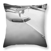 1967 Pontiac Gto Bw Throw Pillow