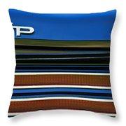 1967 Pontiac Hurst Grand Prix Convertible Taillight Emblem -3584c Throw Pillow