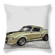 Go Baby Gone Throw Pillow